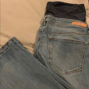 Maternity - Skinny Blue Jean